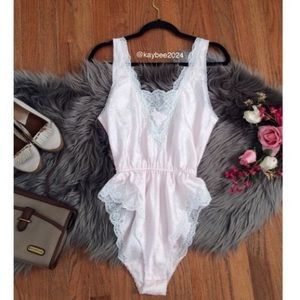 Intimates & Sleepwear - 80's Vintage lingerie romper